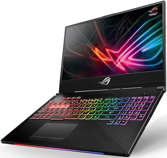 Asus ROG Strix Hero II GL504GV VR Ready Full HD Gaming Laptop Under $1500