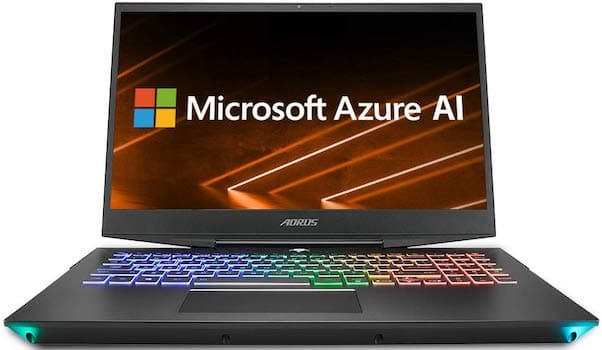 Gigabyte Aorus 15 - best gaming laptops under 1500 dollars