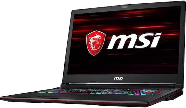 MSI GL73 9SEK-411 17-inch Gaming Notebook - Best Gaming Laptops Under 1500 Dollars