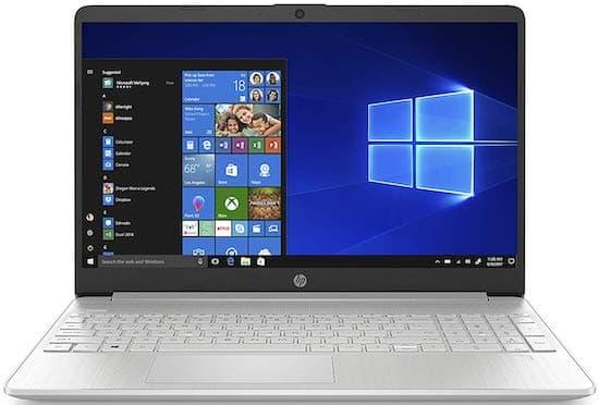 HP Pavilion 15 - best touchscreen laptop under 500 dollars