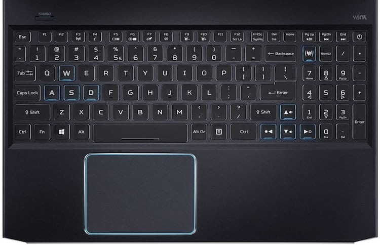 2019 Acer Predator Helios 300 15-inch Gaming Laptop - Keyboard and Trackpad Review