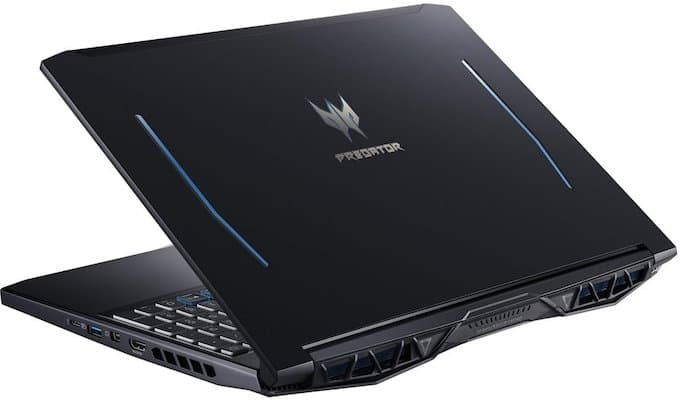 Acer Predator Helios 300 (2019) Gaming Laptop - Design and Build Quality