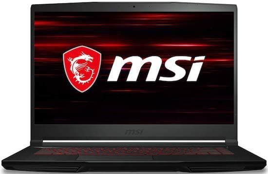 MSI GF63 9SC-614 Gaming Laptop under $800