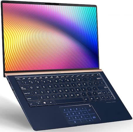 ASUS ZenBook 13 - best ultrabook under 1000 dollars