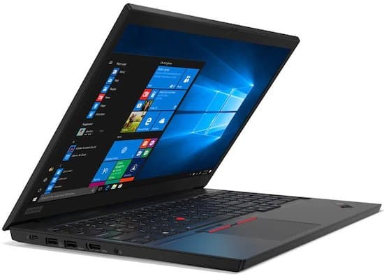 Lenovo ThinkPad E15 - budget 15 inch laptop for small businesses