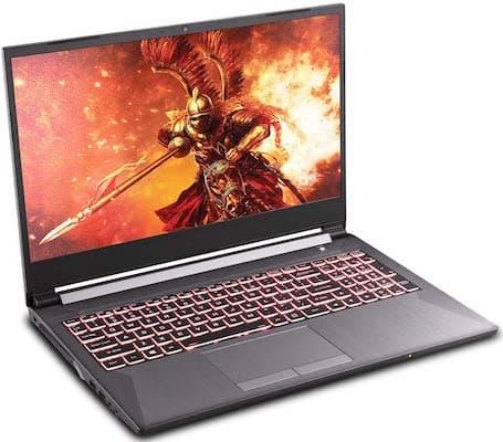 "Sager NP7858DW 15"" - best gaming laptops under 1500 dollars"