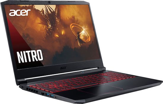 "Acer Nitro 5 15"" Budget AMD Gaming Laptop with Ryzen 5 4600H"