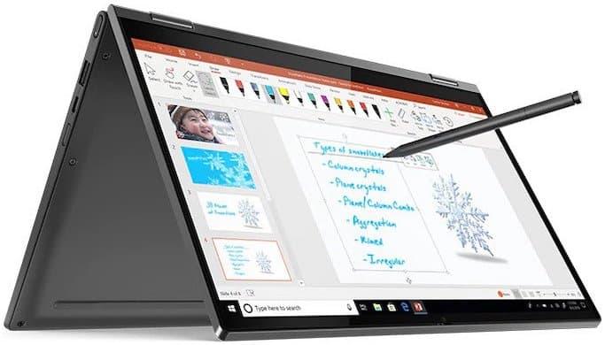 """Lenovo Yoga C640 13"""" - best 2 in 1 laptop under 700 dollars"""