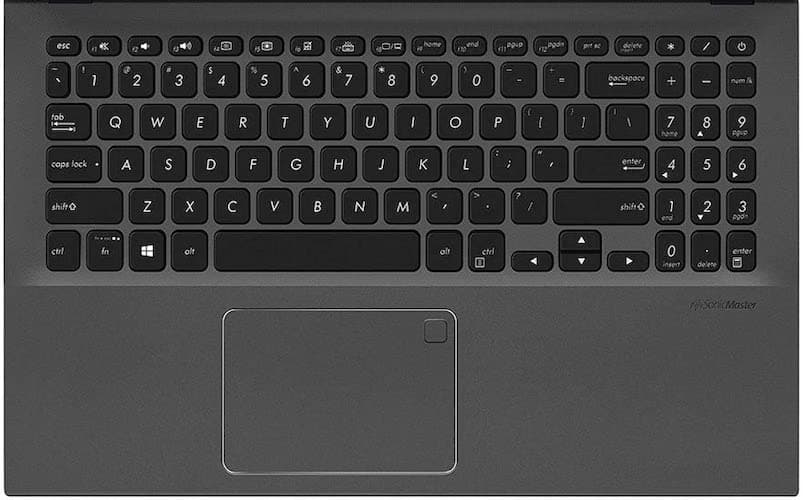 2020 ASUS VivoBook 15 Backlit Keyboard and Trackpad Review