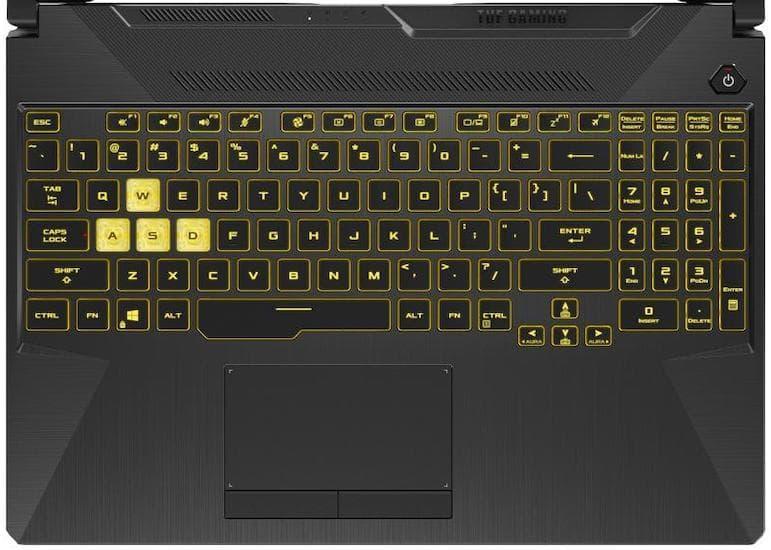 ASUS TUF Gaming A15 Laptop Review - Customizable RGB Keyboard