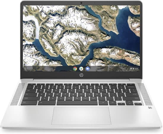 HP 14a-na0010nr Chromebook - best laptop under 200 dollars