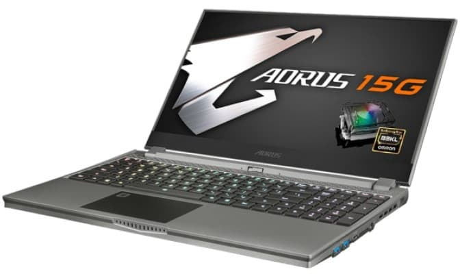 Gigabyte Aorus 15G Gaming Laptop