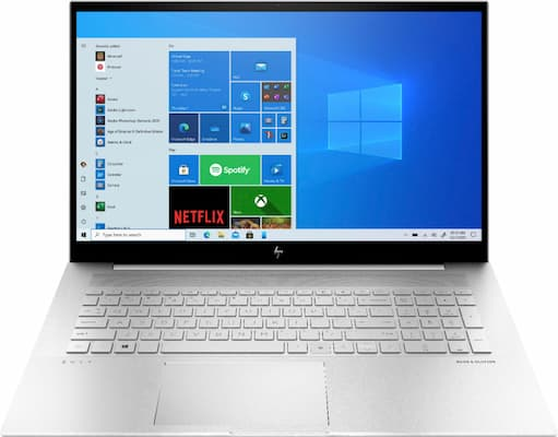 HP ENVY 17 with Large 17-inch 1080p Display