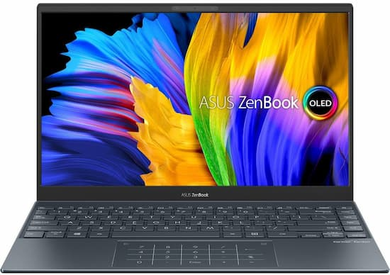 Asus ZenBook 13 OLED: Editor's Choice - The Best Laptop Under $1000 2021