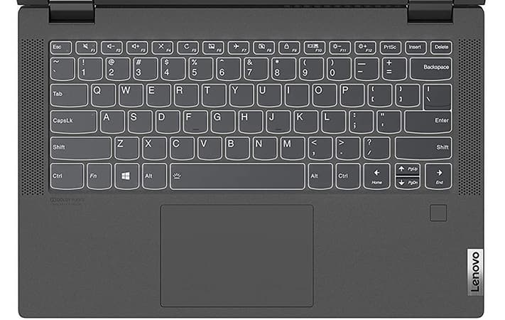 """Lenovo Flex 5 14"""" Backlit Keyboard and Trackpad Review"""