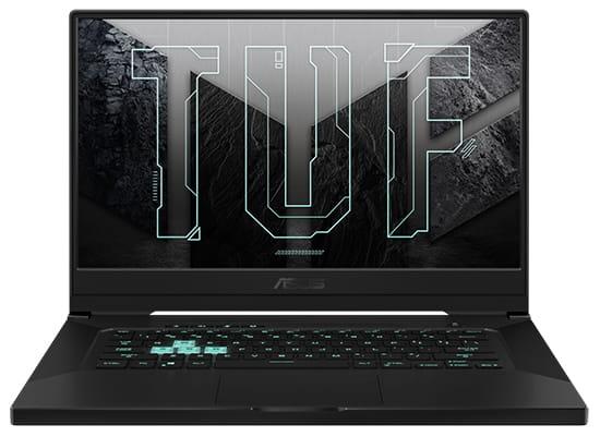 Asus TUF Dash 15 Thin and Light Gaming Laptop