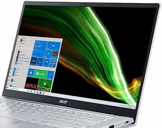 Acer Swift 3 SF314-43-R2YY Review - 100% sRGB Display Viewing Angles