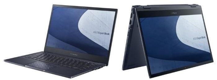 Asus ExpertBook B5 and B5 Flip OLED