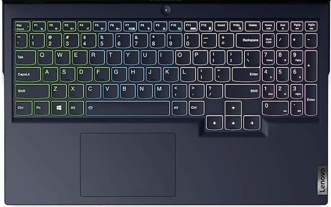 2021 Lenovo Legion 5 15 4 Zone RGB Keyboard